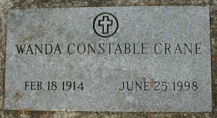 CONSTABLE, WANDA - Lewis County, New York | WANDA CONSTABLE - New York Gravestone Photos