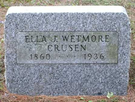 WETMORE, ELLA J. - Lewis County, New York | ELLA J. WETMORE - New York Gravestone Photos
