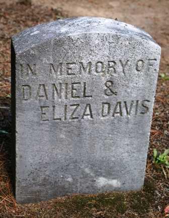 DAVIS, ELIZA - Lewis County, New York   ELIZA DAVIS - New York Gravestone Photos