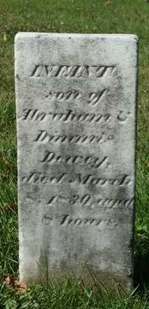 DEWEY, INFANT SON - Lewis County, New York   INFANT SON DEWEY - New York Gravestone Photos