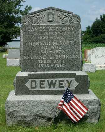 DEWEY, HANNAH M. - Lewis County, New York | HANNAH M. DEWEY - New York Gravestone Photos
