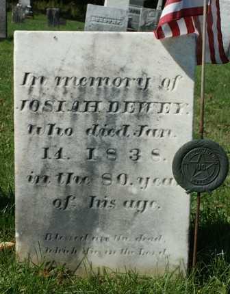 DEWEY (RW), JOSIAH - Lewis County, New York | JOSIAH DEWEY (RW) - New York Gravestone Photos