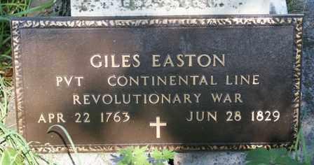 EASTON, GILES - Lewis County, New York | GILES EASTON - New York Gravestone Photos