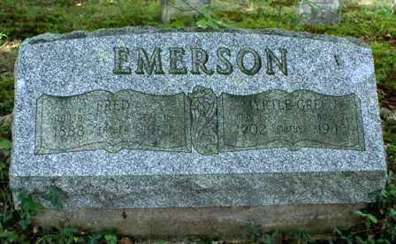 EMERSON, FRED - Lewis County, New York | FRED EMERSON - New York Gravestone Photos