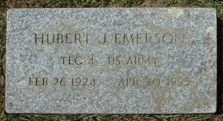 EMERSON, HUBERT J. - Lewis County, New York   HUBERT J. EMERSON - New York Gravestone Photos