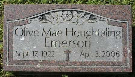 EMERSON, OLIVE MAE - Lewis County, New York | OLIVE MAE EMERSON - New York Gravestone Photos