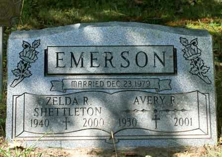 SHETTLETON EMERSON, ZELDA R. - Lewis County, New York | ZELDA R. SHETTLETON EMERSON - New York Gravestone Photos