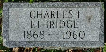 ETHRIDGE, CHARLES I. - Lewis County, New York | CHARLES I. ETHRIDGE - New York Gravestone Photos
