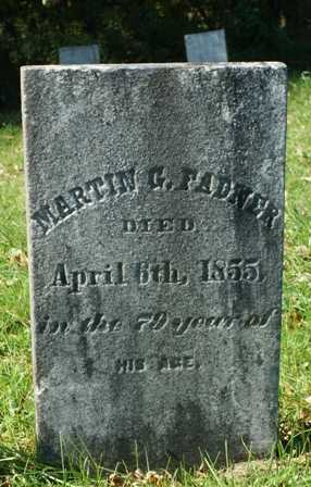 FADNER, MARTIN G. - Lewis County, New York | MARTIN G. FADNER - New York Gravestone Photos
