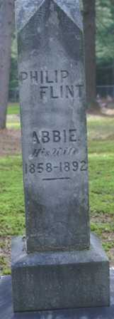 FLINT, ABBIE - Lewis County, New York   ABBIE FLINT - New York Gravestone Photos