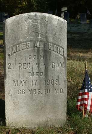 FRUIN, JAMES A. - Lewis County, New York | JAMES A. FRUIN - New York Gravestone Photos