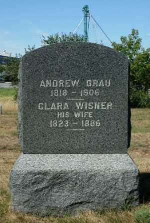 WISNER GRAU, CLARA - Lewis County, New York | CLARA WISNER GRAU - New York Gravestone Photos