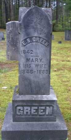 GREEN, MARY - Lewis County, New York | MARY GREEN - New York Gravestone Photos