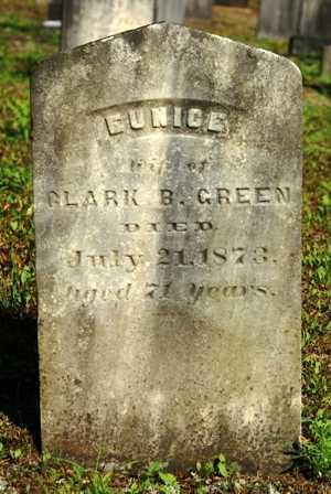 GREEN, EUNICE - Lewis County, New York   EUNICE GREEN - New York Gravestone Photos