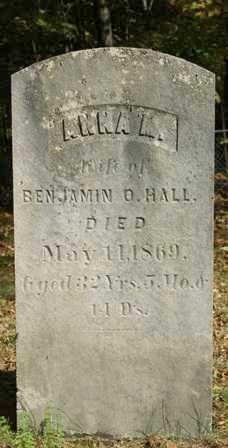 HALL, ANNA A. - Lewis County, New York   ANNA A. HALL - New York Gravestone Photos