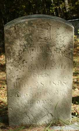 HALL, BENJAMIN O. - Lewis County, New York | BENJAMIN O. HALL - New York Gravestone Photos