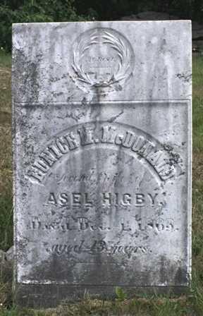 HIGBY, EUNICE M. - Lewis County, New York   EUNICE M. HIGBY - New York Gravestone Photos