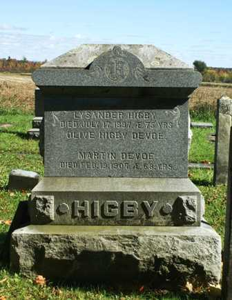 STANCLIFF HIGBY, OLIVE - Lewis County, New York | OLIVE STANCLIFF HIGBY - New York Gravestone Photos