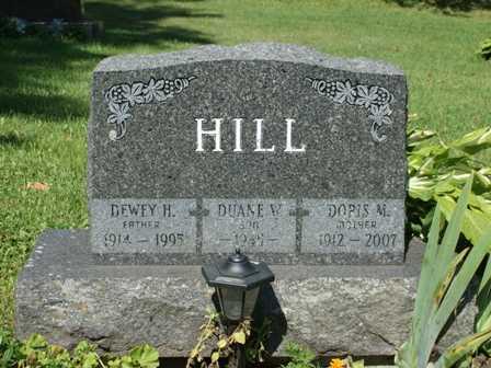 HILL, DEWEY H. - Lewis County, New York | DEWEY H. HILL - New York Gravestone Photos
