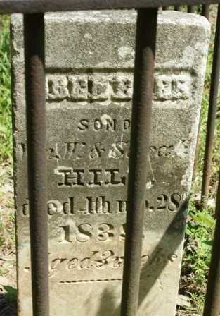HILL, EBENEZER - Lewis County, New York | EBENEZER HILL - New York Gravestone Photos