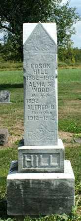 HILL, ALMA S. - Lewis County, New York | ALMA S. HILL - New York Gravestone Photos