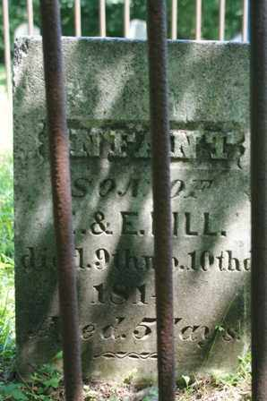 HILL, INFANT - Lewis County, New York | INFANT HILL - New York Gravestone Photos