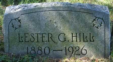 HILL, LESTER G. - Lewis County, New York   LESTER G. HILL - New York Gravestone Photos
