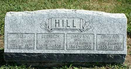 HILL, MARY ANN - Lewis County, New York | MARY ANN HILL - New York Gravestone Photos