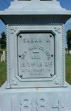 HILL, SARAH J. - Lewis County, New York | SARAH J. HILL - New York Gravestone Photos