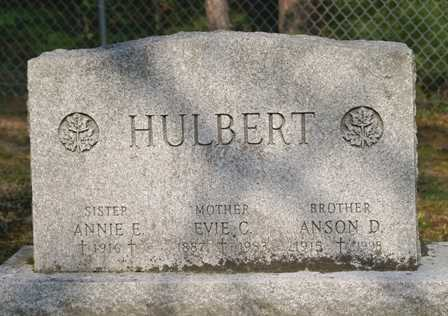 HULBERT, ANSON D. - Lewis County, New York | ANSON D. HULBERT - New York Gravestone Photos