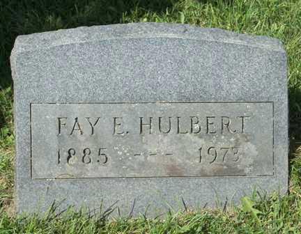 HULBERT, FAY E. - Lewis County, New York | FAY E. HULBERT - New York Gravestone Photos
