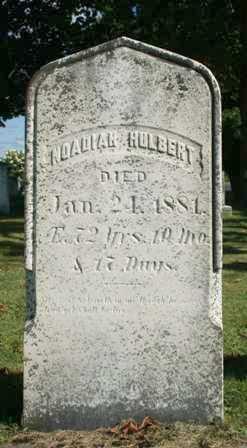 HULBERT, NOADIAH - Lewis County, New York   NOADIAH HULBERT - New York Gravestone Photos