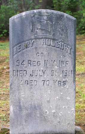HULBURT, HENRY - Lewis County, New York | HENRY HULBURT - New York Gravestone Photos