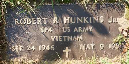 HUNKINS (VN), ROBERT R - Lewis County, New York   ROBERT R HUNKINS (VN) - New York Gravestone Photos