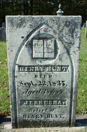 HUNT, HENRY - Lewis County, New York | HENRY HUNT - New York Gravestone Photos