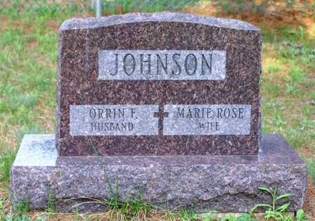 JOHNSON, MARIE ROSE - Lewis County, New York | MARIE ROSE JOHNSON - New York Gravestone Photos