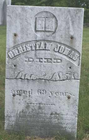 JONAS, CHRISTIAN - Lewis County, New York   CHRISTIAN JONAS - New York Gravestone Photos