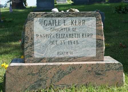KERR, GAILE E. - Lewis County, New York | GAILE E. KERR - New York Gravestone Photos