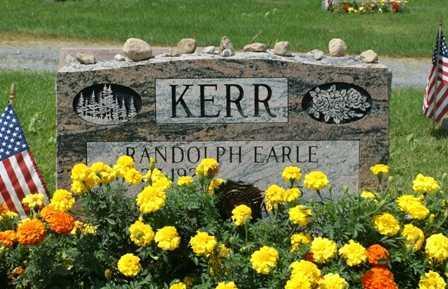 KERR, RANDOLPH EARLE - Lewis County, New York | RANDOLPH EARLE KERR - New York Gravestone Photos