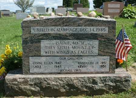 KERR, RANDOLF AND ELIZABETH FAMILY MONUMENT - Lewis County, New York | RANDOLF AND ELIZABETH FAMILY MONUMENT KERR - New York Gravestone Photos