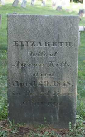 KITTS, ELIZABETH - Lewis County, New York | ELIZABETH KITTS - New York Gravestone Photos