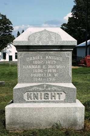 KNIGHT, HANNAH E. - Lewis County, New York | HANNAH E. KNIGHT - New York Gravestone Photos