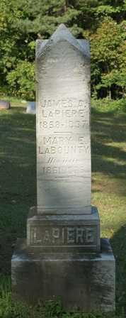 LABOUNTY, MARY E - Lewis County, New York | MARY E LABOUNTY - New York Gravestone Photos