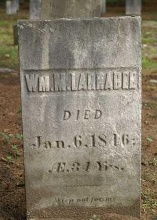 LARRABEE, WILLIAM M. - Lewis County, New York | WILLIAM M. LARRABEE - New York Gravestone Photos