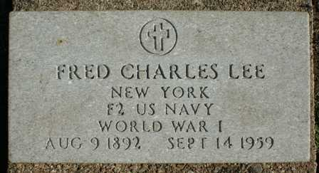 LEE, FRED CHARLES - Lewis County, New York | FRED CHARLES LEE - New York Gravestone Photos