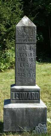 LEONARD, WILLIAM - Lewis County, New York   WILLIAM LEONARD - New York Gravestone Photos