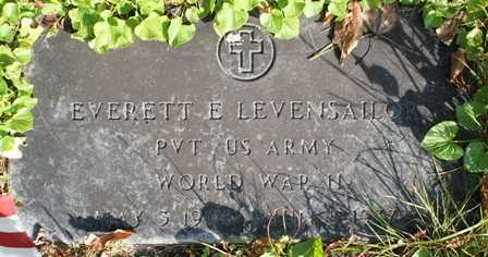 LEVANSAILOR (WWII), EVERETT E - Lewis County, New York | EVERETT E LEVANSAILOR (WWII) - New York Gravestone Photos