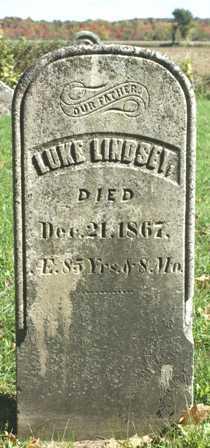 LINDSEY, LUKE - Lewis County, New York | LUKE LINDSEY - New York Gravestone Photos