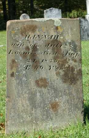 LOOMIS, HANNAH - Lewis County, New York | HANNAH LOOMIS - New York Gravestone Photos