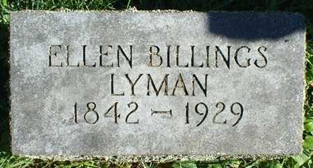 LYMAN, ELLEN - Lewis County, New York | ELLEN LYMAN - New York Gravestone Photos